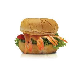 CARTOPUS SUSHI EBI BURGER 寿司虾汉堡包